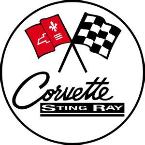 vintage corvette logo corvette logo vectors free