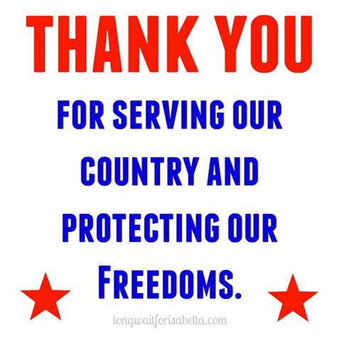 Care Packages For Soldiers Quot Thank You For Your Support by Printable Care Package List And Gift Ideas