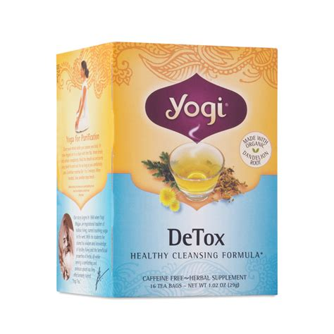 Yogi Detox Tea Ingredients by Detox Tea By Yogi Tea Thrive Market