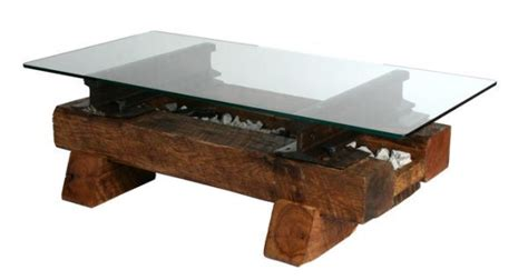 Railroad Tie Coffee Table Pin By Shea Harrison On For The Home Pinterest