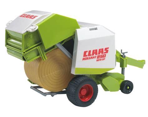 bruder farm toys bruder 02121 claas rollant model toy hay baler farm toys