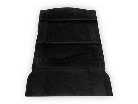 mustang rear seat delete kit speedform mustang hatchback rear seat delete kit black