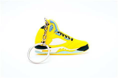 retro l yellow nike air jordan 5 retro yellow kool keyringskool keyrings