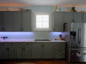 grey blue glazed and distressed cabinets traditional