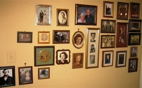 family picture wall abt unk motivation monday family tree wall finished