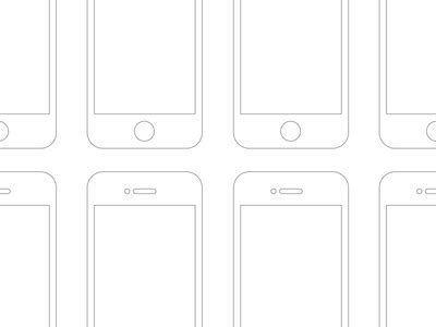 Free Mobile Flow Template Psd Wireframe Retina Free Psd Vector Icons Mobile Wireframe Template