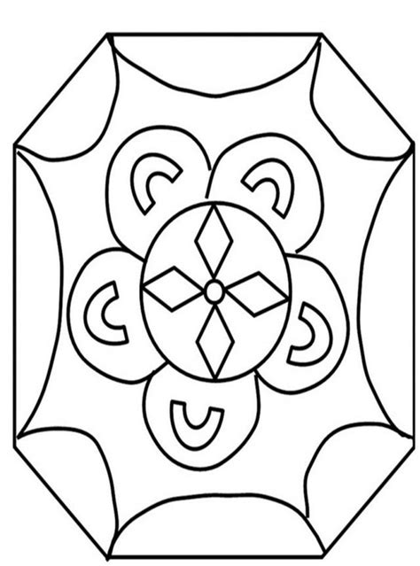 rangoli coloring pages coloring home