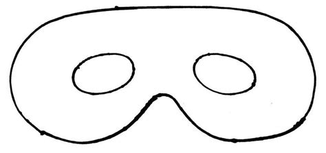 mask template for mask template clipart best