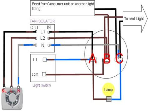 wiring diagram for nutone ceiling fans with light wiring