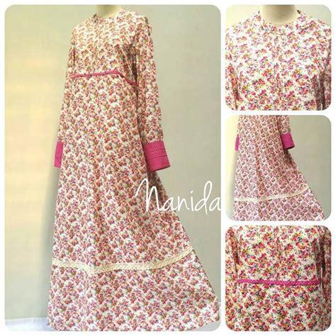 Gamis Maxi Ibu Dan Anak Muslim Dress Katun Busui Limited 2 distributor baju gamis katun jepang newdirections us