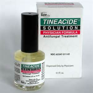 Coverlet Bandages Tineacide Solution Antifungal Treatment