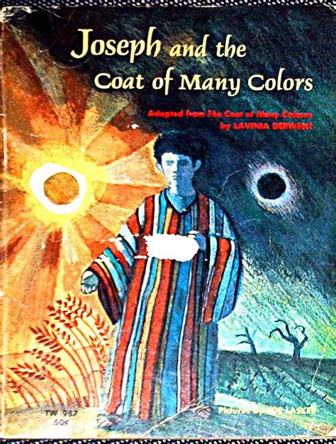 joseph and the coat of many colors joseph and the coat of many colors by lavinia derwent