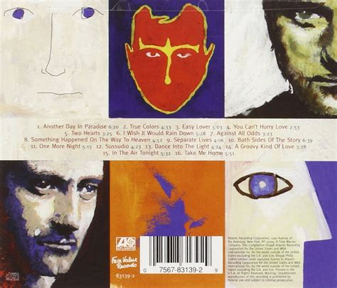 phil collins genesis greatest hits jual cd phil collins hits creative disc