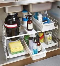Under the sink storage ideas organizer