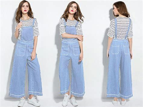 Celana Jumpsuit Wanita baju jumpsuit celana kodok model kulot panjang modern terbaru