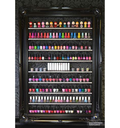 bespoke baroque nail polish display  beauty salon nail