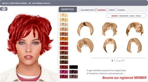try a hairstyle on your photo using virtual hairstyle make over top 60 easy hairstyles for short hair