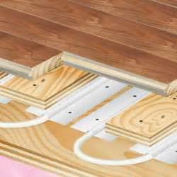 radiant floor heating installation hardwood flooring by