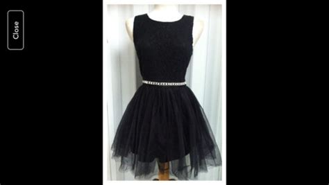 dress black tulle dress with sparkly belt wheretoget