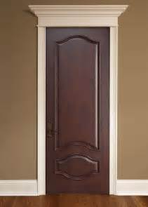 interior door custom single solid wood with