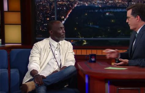 michael k williams video michael k williams talks how playing omar on the wire