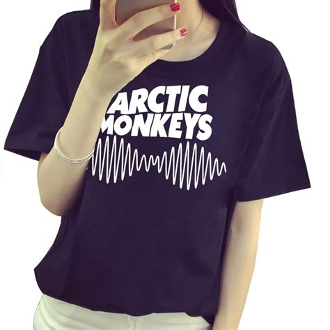 Tshirt Arctic Monkeys 02 arctic monkeys rock and roll t shirt cotton casual