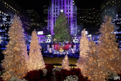 2014 Rockefeller Center Christmas Tree Lighting Ceremony Lighting Of Tree Nyc 2014