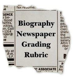 biography newspaper book report biography book report newspaper templates printable