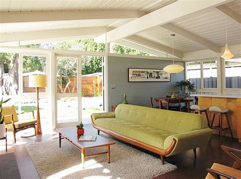 mid century style retro living room ideas and decor inspirations for the