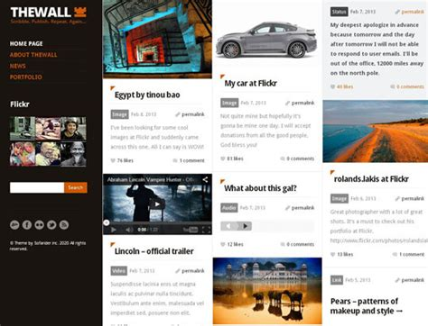 wordpress grid layout free 50 really creative grid layout wordpress themes designbeep