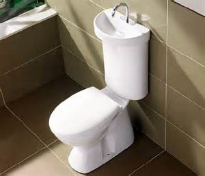 dual flush toilet is a sink and greywater system in one