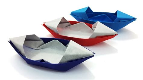 origami boat for beginners how to make a paper san boat easy origami boat