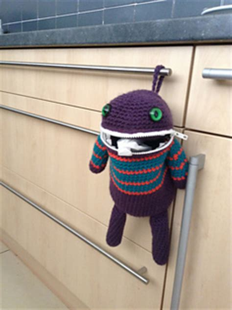crochet pattern for monster bag holder ravelry monster bag holder pattern by courtney deley