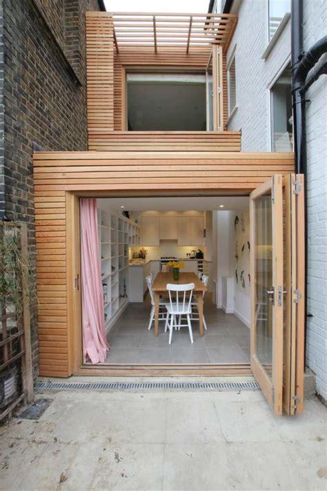 extension maison bois moderne  fonctionnelle