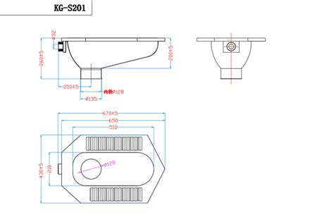 Squat Type Water Closet by Kuge High Quality Stainless Steel Squat Toilet