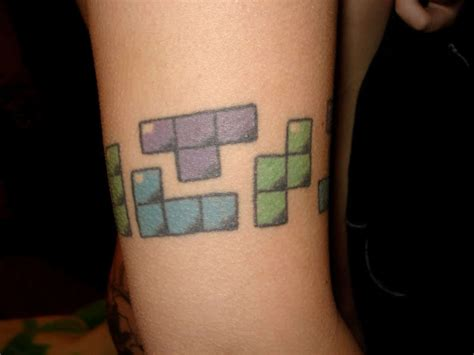 photography tattoos tetris tattoos photo 8266372 fanpop
