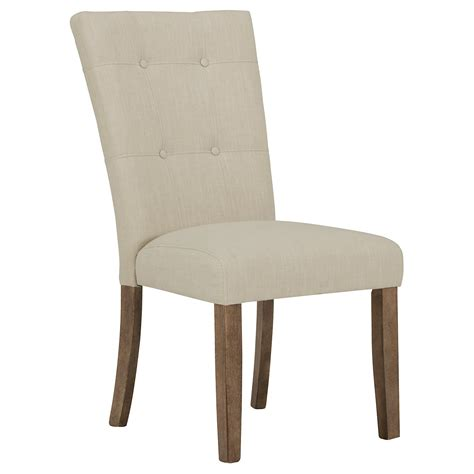 White Upholstered Chairs by City Furniture Emmett White Upholstered Side Chair