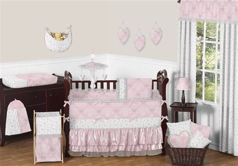 Jojo Butterfly Crib Bedding Pink And Gray Butterfly Baby Bedding 9pc Crib Set By Sweet Jojo Designs Only 189 99