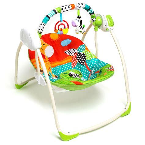 Swing Pille by Baby Plus Sevimli Zebra Salıncak