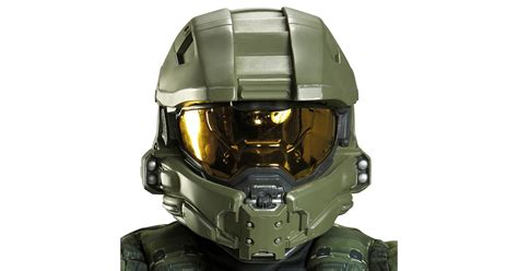 How To Make A Master Chief Helmet Out Of Paper - buy halo master chief helmet