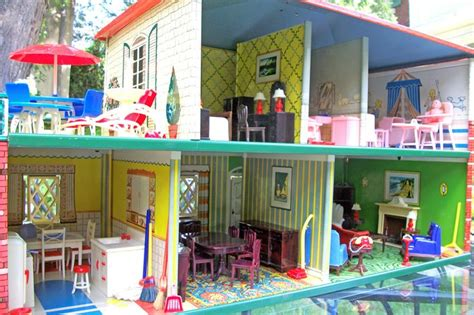 t cohn dollhouse ultimate 1948 t cohn tin colonial dollhouse furnished