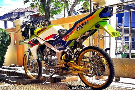 40 foto gambar modifikasi motor r racing thailook style drag bike
