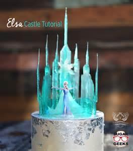 Frozen elsa castle tutorial cake pinterest jongose ninja