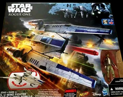 Wars Rebel U Wing Fighhter Nerf Disney Hasbro idle wars rogue one toys surfacing