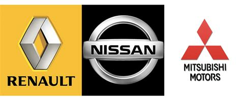 renault nissan logo mitsubishi joins the renault nissan alliance zigwheels forum