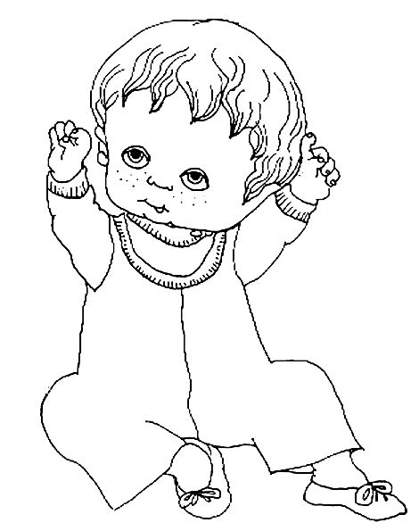 Free Baby Doll Coloring Pages Baby Doll Coloring Pages