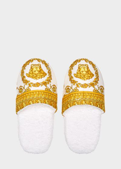 versace house slippers versace home luxury slippers uk online store