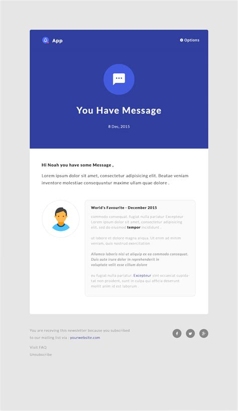 responsive email html template notificationapp responsive notification email html