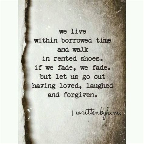Broken Wing Borrowed Time by We Live Within Borrowed Time And Walk In Rented Shoes If