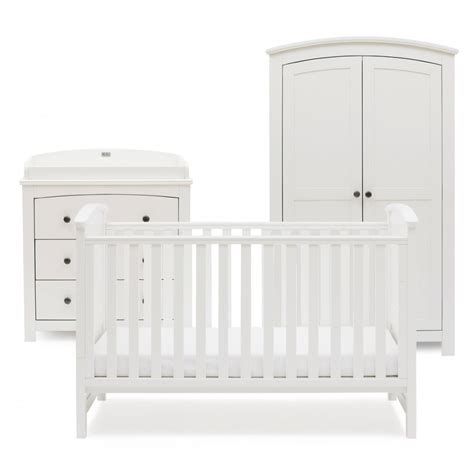 white nursery sets furniture silver cross ashby style nursery furniture set
